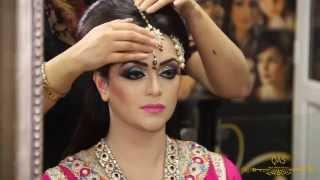 getlinkyoutube.com-Asian Bridal Makeup Tutorial By Qas Of Kashish -Traditional Look.