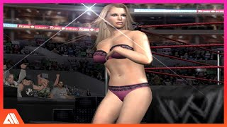 getlinkyoutube.com-Lita Vs Sable Bra and Panties Match - WWE Divas - Smackdown HCTP HD