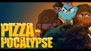 getlinkyoutube.com-Amazing World of Gumball: Pizza-Pocalypse