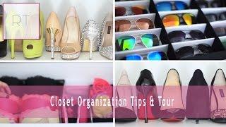 getlinkyoutube.com-Closet Organization Tips & Tour | Rachel Talbott