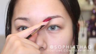 How I Fill/Even Out My Brows
