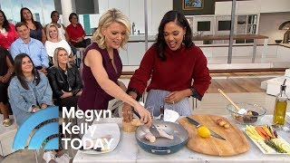 Ayesha Curry Shows Megyn Kelly How To Make A Roast Chicken Dinner In One Pan | Megyn Kelly TODAY