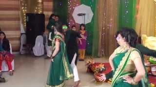 getlinkyoutube.com-Shojib-jYoTi Holud Shondha- Dance Performance Part 1
