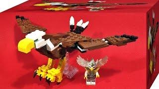 getlinkyoutube.com-레고 용맹한 독수리 크리에이터 31004 3in1 블럭 장난감 조립 리뷰 Lego creator Fierce Flyer