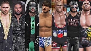 getlinkyoutube.com-WWE 2K17 - More 10 Community Creations Caws!