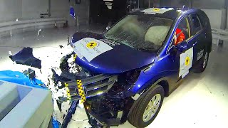getlinkyoutube.com-Honda CRV Crash Test - Fifth Gear