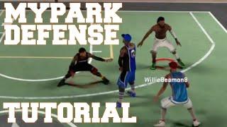 getlinkyoutube.com-NBA 2K16 MyPark - Defense Tutorial (Switching & Help Defense)