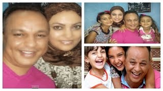 getlinkyoutube.com-بالصور… هذه هي زوجة و ابنتا الممثل المميز عبد الله ديدان