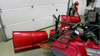 getlinkyoutube.com-Home made atv snow plow and gas spring lift