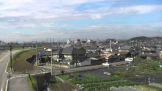 getlinkyoutube.com-高音質・HD車窓 キハ181 特急はまかぜ1号 明石~姫路