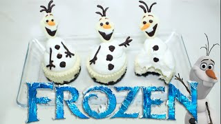 getlinkyoutube.com-➪ ¿Como Hacer Mini Cheesecakes? ❅ FROZEN ❆ Olaf ❄︎ - Miranda Ibañez