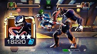 getlinkyoutube.com-Marvel: Contest of Champions - AQ 5 [VENOM BOSS FIGHT] Monster's Lair