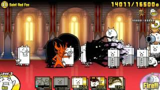 getlinkyoutube.com-The Battle Cats - Saint Red Fox