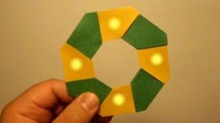 """getlinkyoutube.com-كيف تصنع نجمه """"نينجا"""" متحركه ?"""