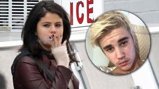 getlinkyoutube.com-Justin Bieber Escribe Canción Para Selena Gomez y ella...fumando!