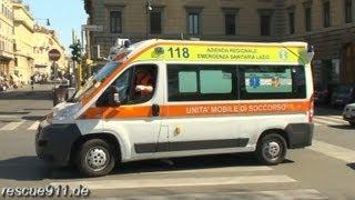 getlinkyoutube.com-Ambulanza ARES 118 Lazio (collection)