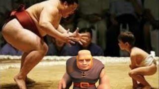 getlinkyoutube.com-Daddy vs Junior in Clash of Clans