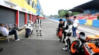 getlinkyoutube.com-race learning with mr. Dyan from SBK rider