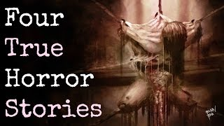 4 Disturbing TRUE Horror Stories [Mini-Game Edition]