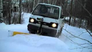 getlinkyoutube.com-Mini Truck Plow