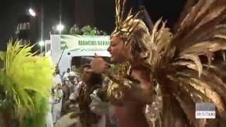 getlinkyoutube.com-Juju Salimeni rouba a cena no desfile da Mancha Verde