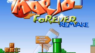 getlinkyoutube.com-Mario Forever REMAKE v1.5b - Human Laboratory World