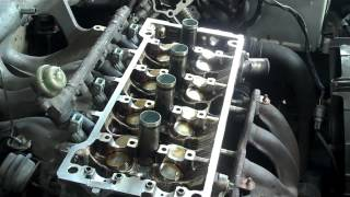 getlinkyoutube.com-TOYOTA ENGINE REPAIR PART 3 HEAD GASKET
