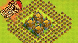 "getlinkyoutube.com-""GOLD TROLL BASE!"" - Clash of Clans - +200 CUPS GAINED OVER NIGHT! Trolling Noobs!"