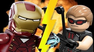 getlinkyoutube.com-Lego Iron Man vs Hawkeye