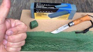 getlinkyoutube.com-$ 3 Sharpening Stone? MDF Strop Test as well !!!