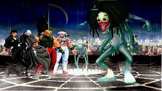 getlinkyoutube.com-Kof Mugen ¡El Boss Más Aterrador!