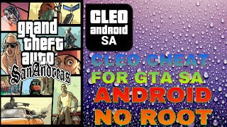 getlinkyoutube.com-(android)How to install cleo mod on gta sa[without root]