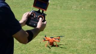 Introduction to Unlocking, locking, taking off and landing the Wingsland Minivet Quadcopter