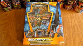 getlinkyoutube.com-Mega Swampert EX Premium Collection Box Opening