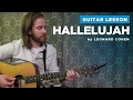 How to play Hallelujah by Leonard Cohen  Rufus Wainwright Guitar Chords & Lesson