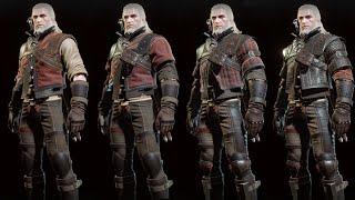 The Witcher 3 Wild Hunt - Wolf Witcher Gear Set Showcase (Normal, Enhanced, Superior, Mastercrafted)