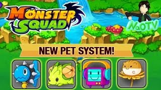 getlinkyoutube.com-MONSTER SQUAD | NEW PET SYSTEM EPIC UPDATE