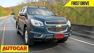 getlinkyoutube.com-Chevrolet Trailblazer   First Drive Video Review   Autocar India