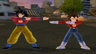 getlinkyoutube.com-All Transformations & Fusions: Dragon Ball Z Budokai Tenkaichi 3 [1080P]