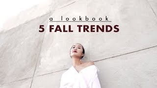 getlinkyoutube.com-5 Fall Trends | A Lookbook