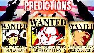 getlinkyoutube.com-One Piece Wanted/Bounties - Predictions/Theory After Wano's War - 2017/2018 HD