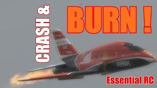 getlinkyoutube.com-RC radio control airplane CRASH & BURN compilation