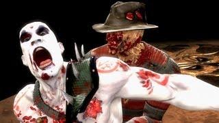 getlinkyoutube.com-Mortal Kombat Komplete PC Freddy Krueger Ladder Playthrough