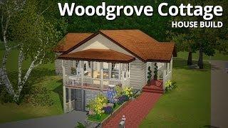 getlinkyoutube.com-The Sims 3 House Building - Woodgrove Cottage