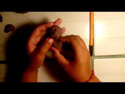 Como hacer mono con corazón de plastilina | like
