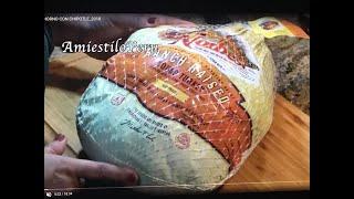 getlinkyoutube.com-PAVO AL HORNO PERU 2014 Thanksgiving Day preparando el pavo antes de que entre al horno