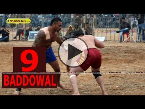 Baddowal (Ludhiana) Kabaddi Tournament 25  Jan 2015 Part 9 by Kabaddi365.com