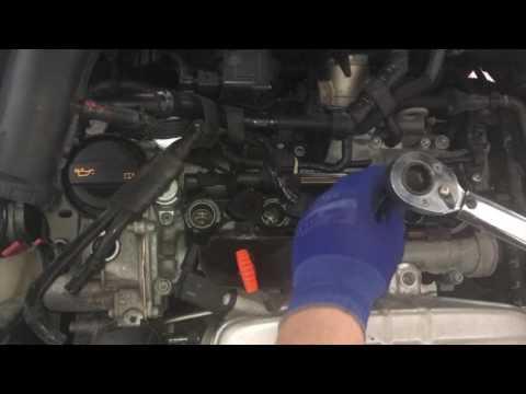 Zundkerzen Wechsel  bei einem TSI Motor