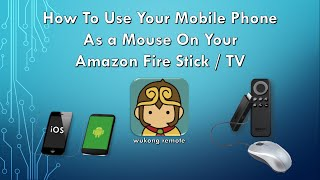 getlinkyoutube.com-How To Use Your Mobile Phone As Mouse On Your Amazon Fire St