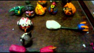getlinkyoutube.com-Angry Birds Star Wars II(Clay Model)PartII-Tatonia
